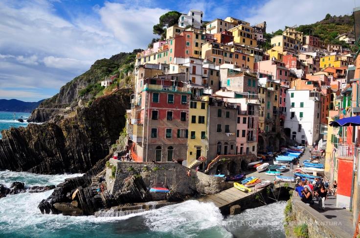 Riomaggiore, the southernmost town.